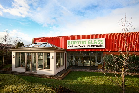 Burton Glass Showroom