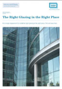 GGF Right Glazing in the Right Place