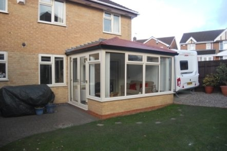 After Edwardian Style Tiled Warm Roof Conservatory