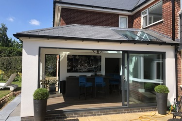Tiled Warm Roof - Before/After