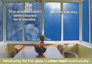 Pilkington Self Cleaning Glass